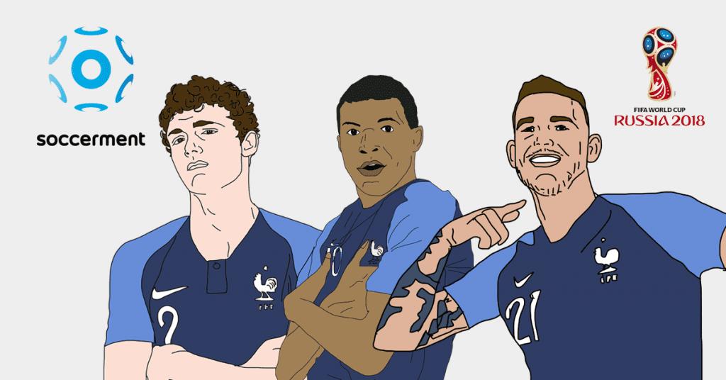 Pavard, Mbappé, Hernandez: France dominates our Under 23 top-10 list