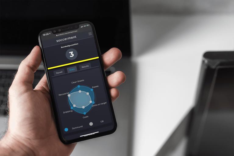 Borussia Dortmund Radar Chart | Soccerment Football Analytics platform