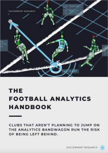 Football Analytics Handbook by Soccerment - Cover