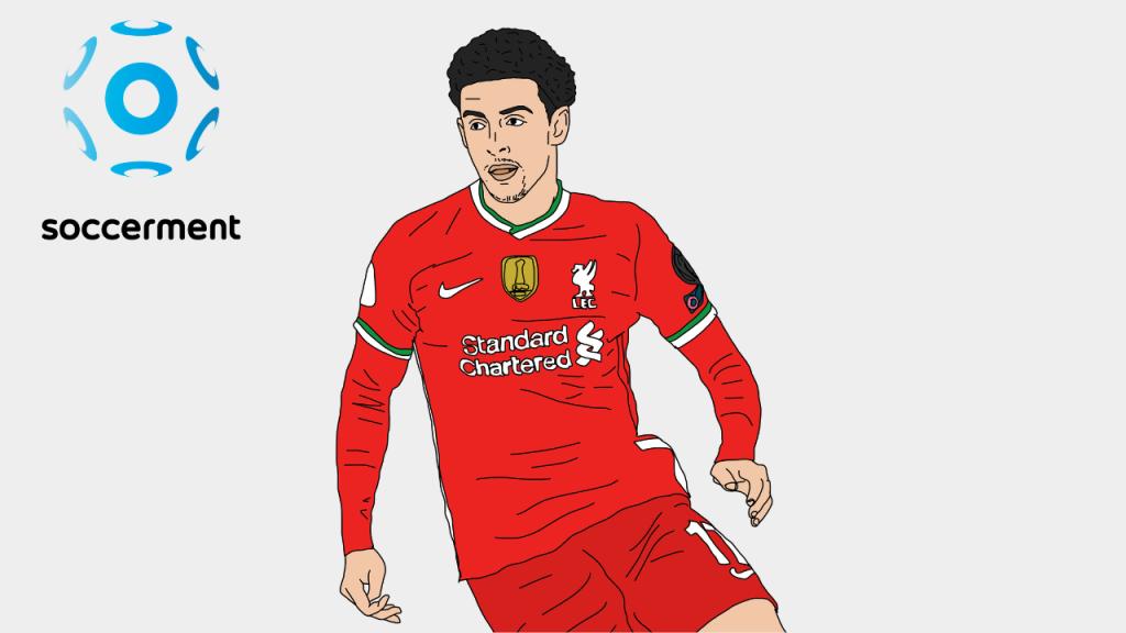 Curtis Jones Liverpool Soccerment png