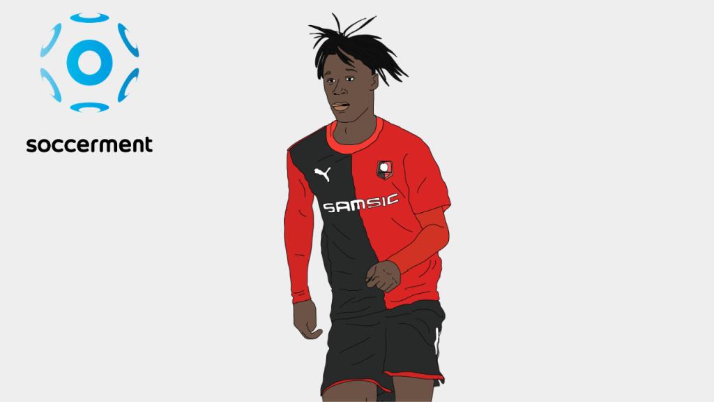 Eduardo Camavinga Rennes Soccerment png