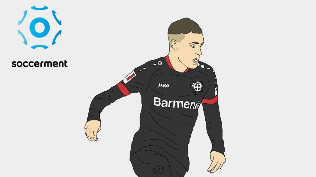 Florian Wirtz Bayer Leverkusen Soccerment png