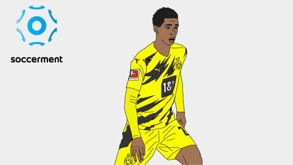 Jude Bellingham Borussia Dortmund Soccerment png