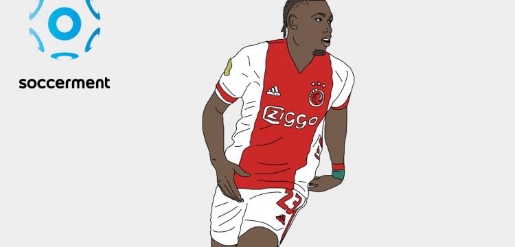 Lassin Traoré Ajax Soccerment png