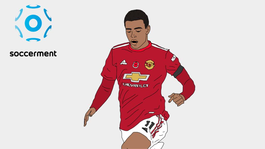 Mason Greenwood Manchester United Soccerment png