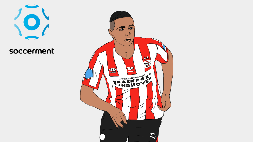 Mohamed Ihattaren PSV Soccerment png