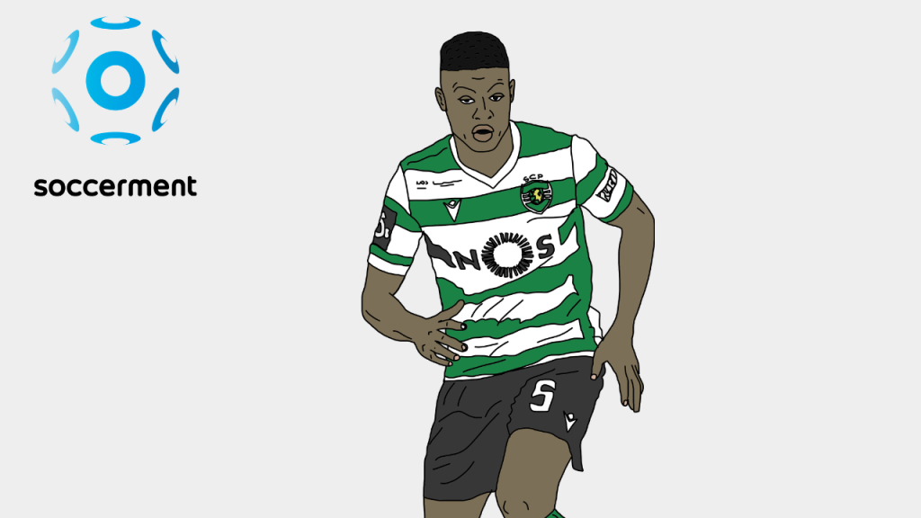 Nuno Mendes Sporting CP Lisbon Soccerment png
