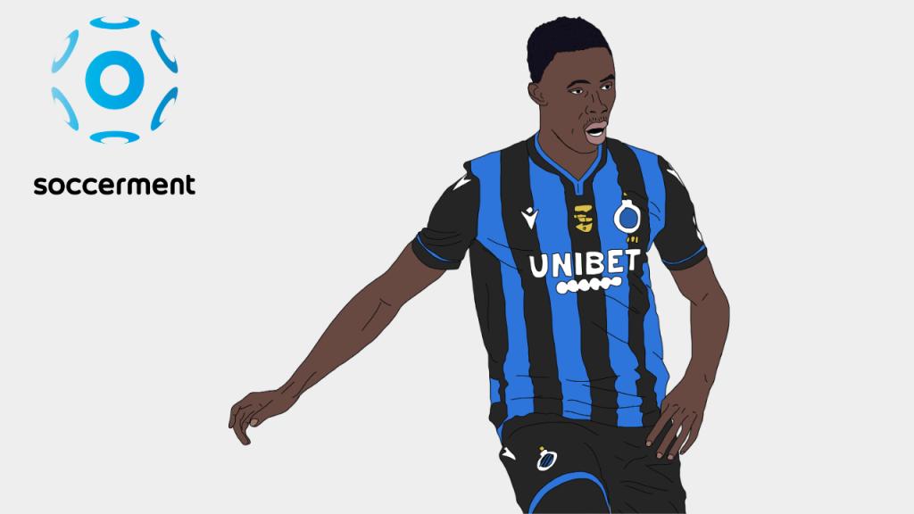 Odilon Kossounou Club Brugge Soccerment png