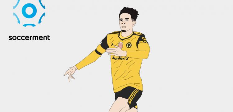 Rayan Ait-Nouri Wolverhampton Wolves Soccerment png