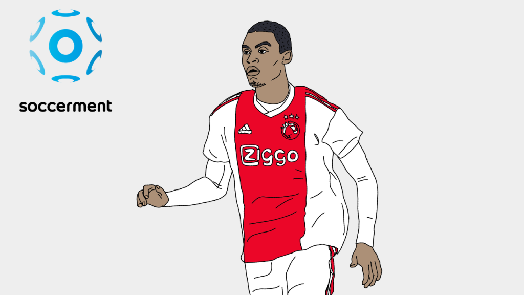 Ryan Gravenberch Ajax Soccerment png